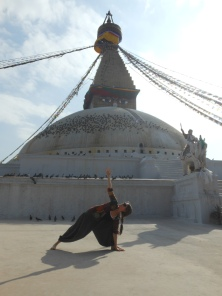 Boudhanath Temple, Kathmandu, Nepal 2012