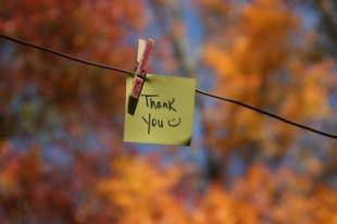 If the only prayer you say your entire life is Thank you, it will be enough. ~Meister Eckhart