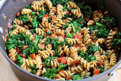 pasta-kale-tom-goatcheese-7-kalynskitchen